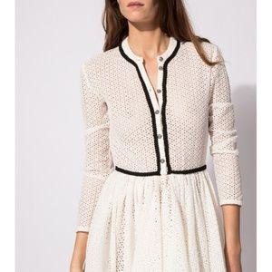 Maje Rayane Lace Puffball Dress size 1